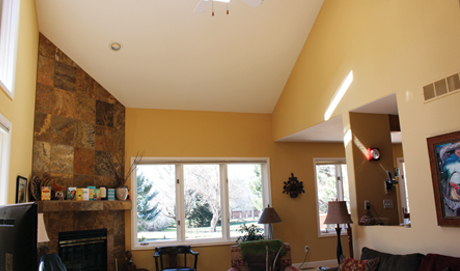 Interior house painting services in Boulder, Colorado
